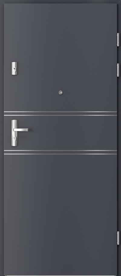 Podobne produkty Drzwi wejściowe do mieszkania GRANIT intarsje 4