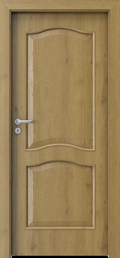Drzwi wewnętrzne Porta NOVA 7.1 Okleina Portaperfect 3D **** Dąb Naturalny