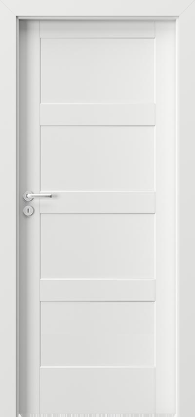 Drzwi wewnętrzne Porta SKANDIA Premium A.0 Lakier Premium **** Biały