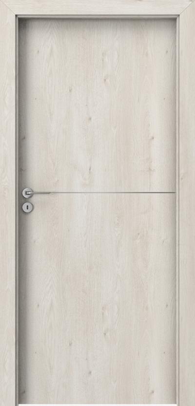 Drzwi wewnętrzne Porta LINE F.1 Okleina Portaperfect 3D **** Dąb Skandynawski