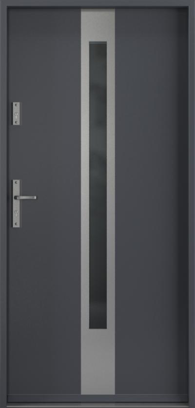 Drzwi wejściowe do domu Steel SAFE RC2 z Thermo C1