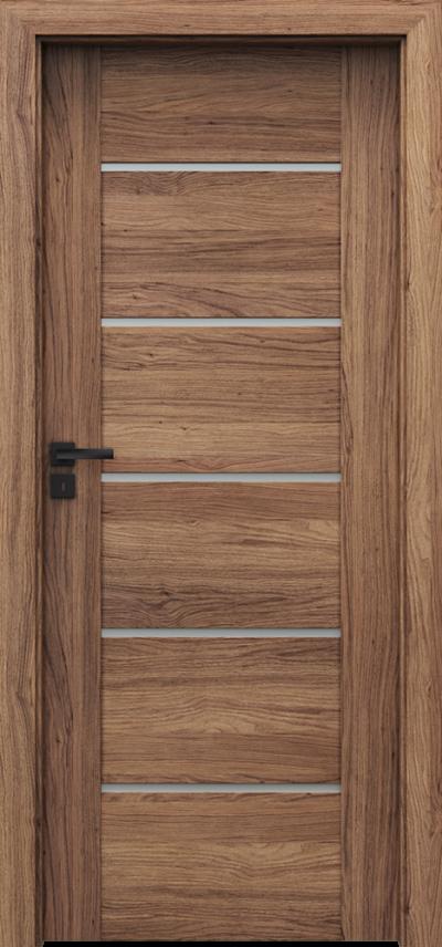Drzwi wewnętrzne Porta VERTE PREMIUM, E E.5 Okleina Portaperfect 3D **** Dąb Kalifornia