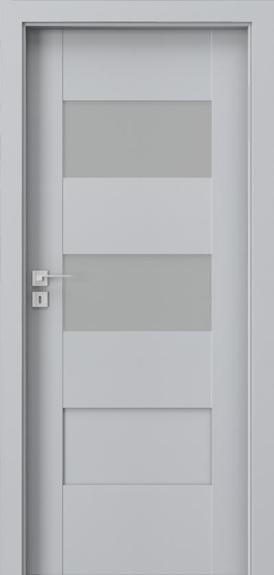 Drzwi wewnętrzne Porta KONCEPT K.2 Okleina Portadecor *** Popielaty Euroinvest