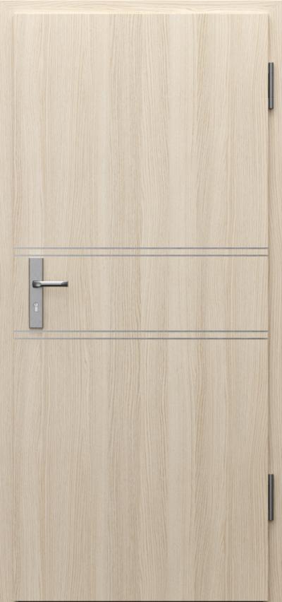 Drzwi techniczne INNOVO 42 dB Intarsje 4 Okleina CPL HQ 0,2 ***** Dąb Milano 1