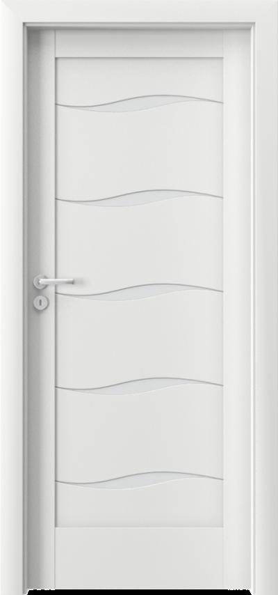 Drzwi wewnętrzne Porta VERTE HOME, E-F F.5 Okleina Portadecor *** Biały