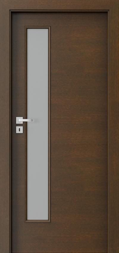 Interior doors  7.4 Natural satin veneer **** Mocca