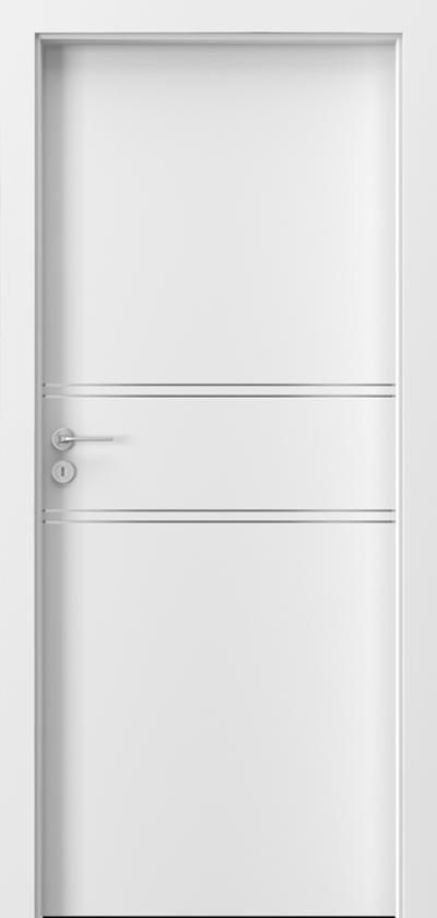 Drzwi wewnętrzne Porta LINE C.1 Okleina Portadecor *** Biały