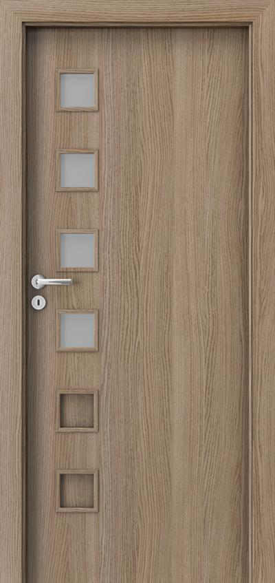 Interior doors Porta FIT A.4 CPL HQ 0.2 veneer ***** Oak Milano 2