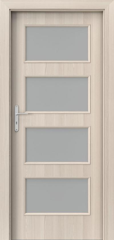 Interiérové dveře Porta NOVA 5.5 Fólie Portadecor *** Ořech Bělený