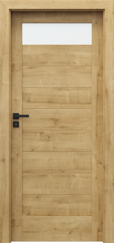 Drzwi wewnętrzne Porta VERTE HOME, C C.1 Portalamino**** Dąb Angielski Hamilton