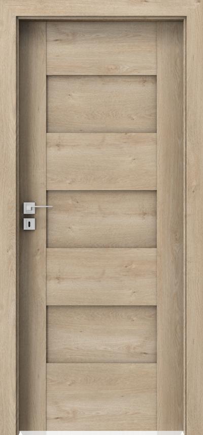 Drzwi wewnętrzne Porta KONCEPT K.0 Okleina Portaperfect 3D **** Dąb Klasyczny