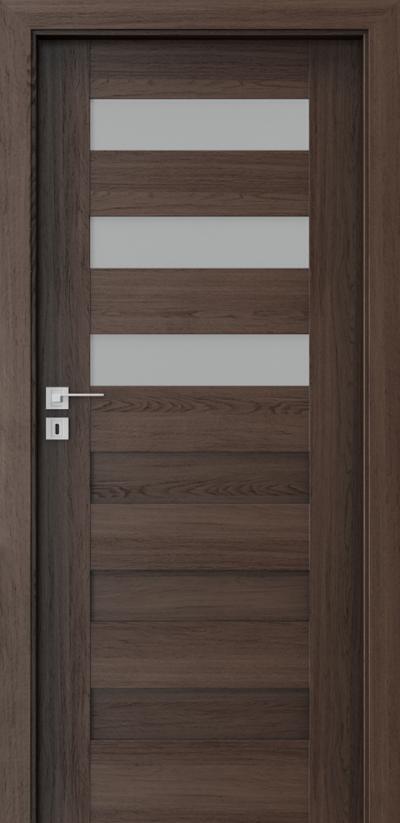 Interior doors Porta CONCEPT C.3 Portaperfect 3D veneer **** Havana Oak