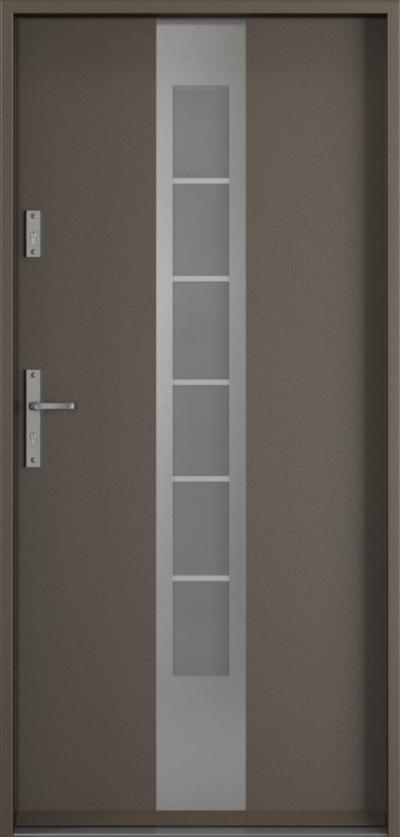 Drzwi wejściowe do domu Steel SAFE RC2 z Thermo E1