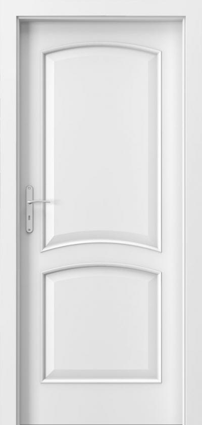 Drzwi wewnętrzne Porta NOVA 6.1 Okleina Portadecor *** Biały