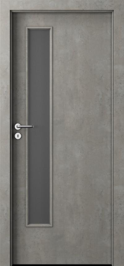 Drzwi wewnętrzne Porta CPL 1.5 Okleina CPL HQ 0,2 ***** Beton jasny