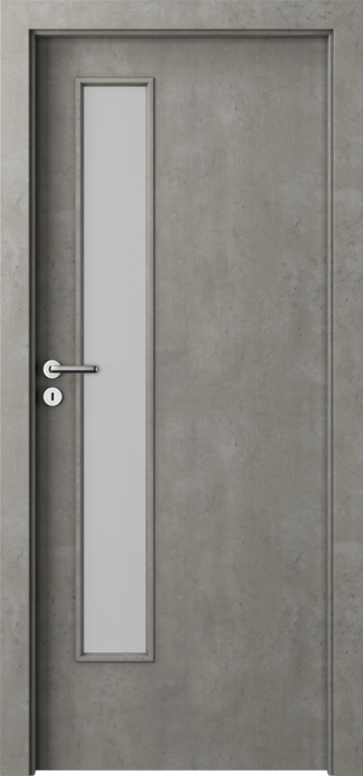 Interiérové dvere Laminát CPL  Laminát CPL HQ 0,2 *****  Betón Svetlý