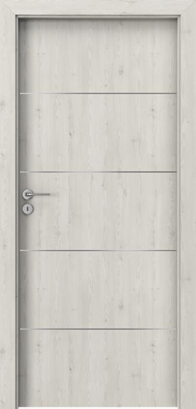 Drzwi wewnętrzne Porta LINE E.1 Okleina Portasynchro 3D *** Sosna Norweska