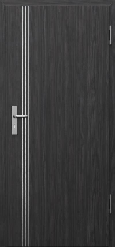 Drzwi techniczne INNOVO 37dB Intarsje 3