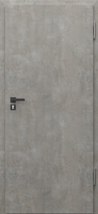 Drzwi techniczne PURE 57dB Pure 57 dB Okleina CPL HQ 0,2 ***** Beton jasny