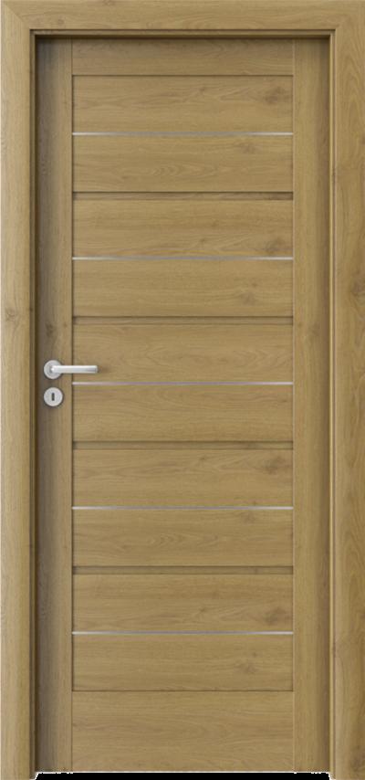 Drzwi wewnętrzne Porta VERTE HOME G.0 intarsje