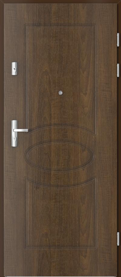 Drzwi wejściowe do mieszkania KWARC frezowane model 8