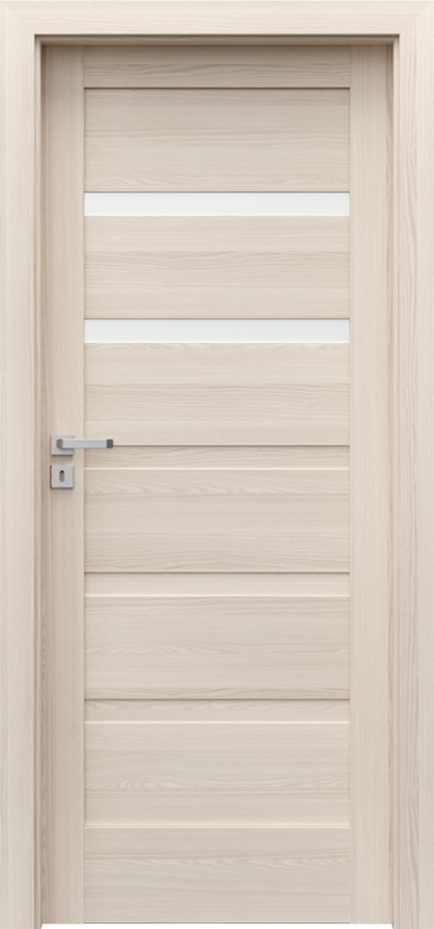 Drzwi wewnętrzne Porta VERTE HOME, H H.2 Okleina Portadecor *** Orzech Bielony