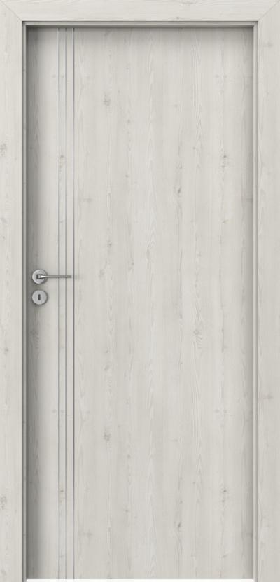 Drzwi wewnętrzne Porta LINE B.1 Okleina Portasynchro 3D *** Sosna Norweska
