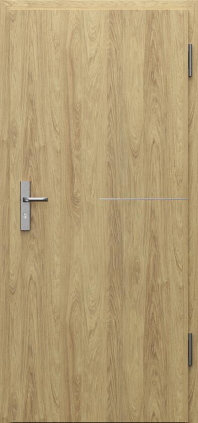 Drzwi techniczne INNOVO 37dB Intarsje 8