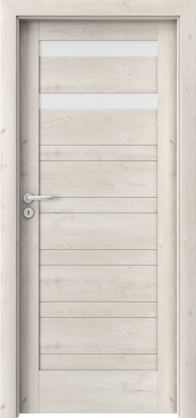 Drzwi wewnętrzne Porta VERTE HOME, D D.2 Okleina Portaperfect 3D **** Dąb Skandynawski