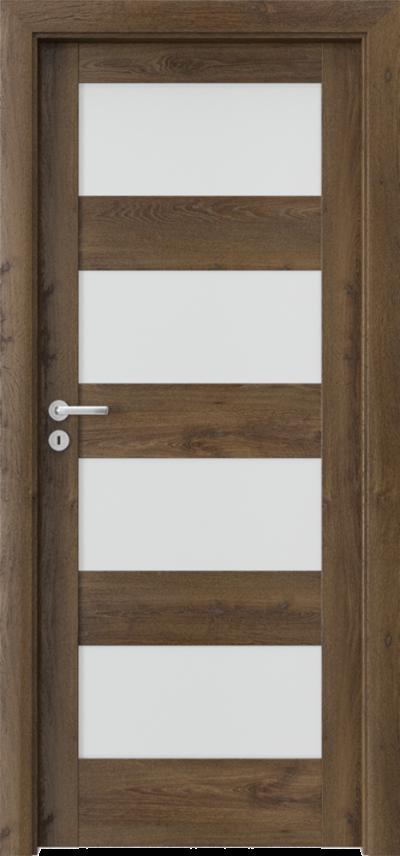 Drzwi wewnętrzne Porta VERTE HOME, L L.4 Okleina Portaperfect 3D **** Dąb Południowy