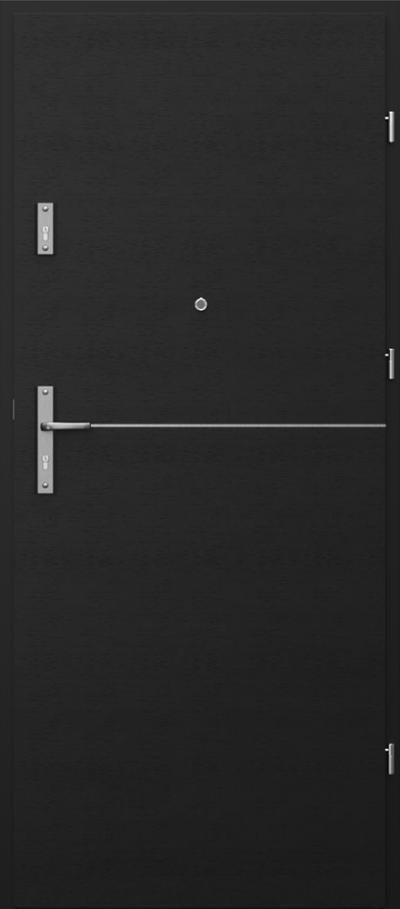 Drzwi wejściowe do mieszkania OPAL RC2 intarsje 7
