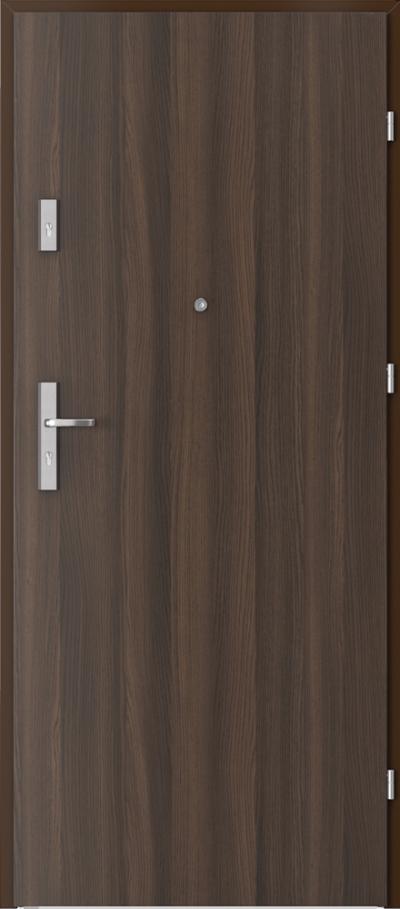 Drzwi wejściowe do mieszkania OPAL Plus pełne Okleina CPL HQ 0,2 ***** Dąb Milano 5