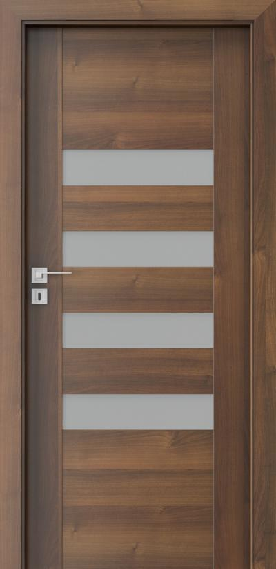 Interior doors Porta CONCEPT H.4 Portadecor veneer *** Walnut