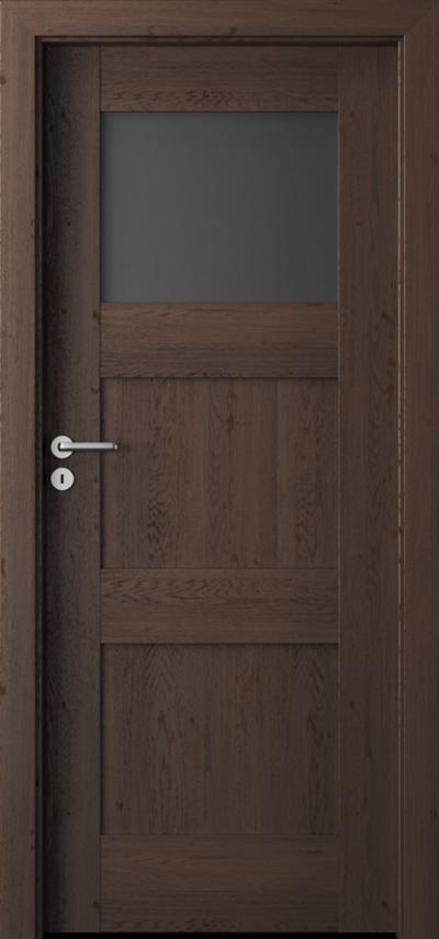 Drzwi wewnętrzne Porta VERTE PREMIUM, B B.1 Okleina Portaperfect 3D **** Dąb Hawana
