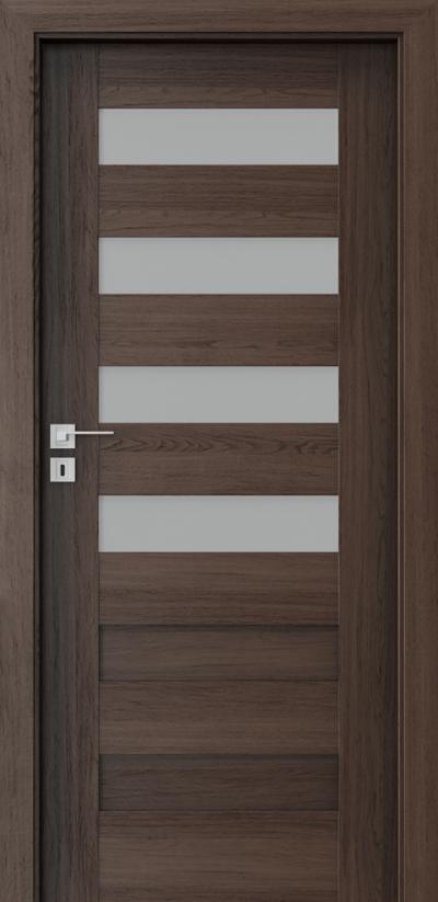 Drzwi wewnętrzne Porta KONCEPT C.4 Okleina Portaperfect 3D **** Dąb Hawana