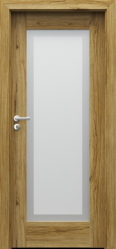Drzwi wewnętrzne Porta INSPIRE A.1 Okleina Portadecor *** Dąb Catania