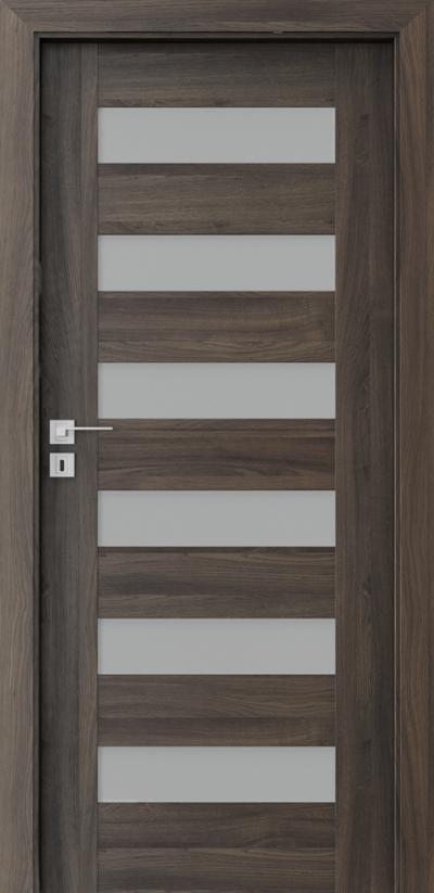 Interior doors Porta CONCEPT C.6 Portasynchro 3D veneer *** Dark Oak