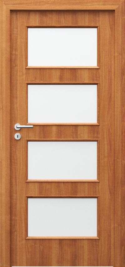 Interiérové dveře Porta NOVA 5.5 Fólie Portadur **** Ořech 2