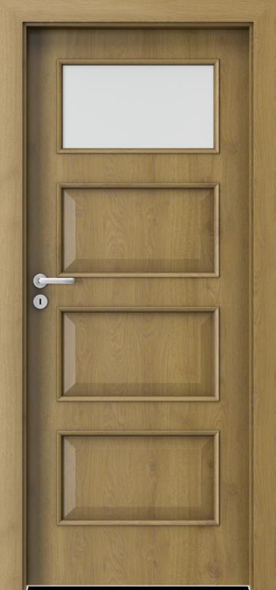 Drzwi wewnętrzne Porta CPL 5.2 Okleina CPL HQ 0,2 ***** Dąb Naturalny