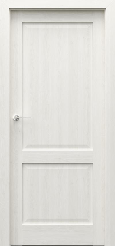 Drzwi wewnętrzne CORDOBA pełne Okleina Naturalna Dąb Satin **** Dąb Biały