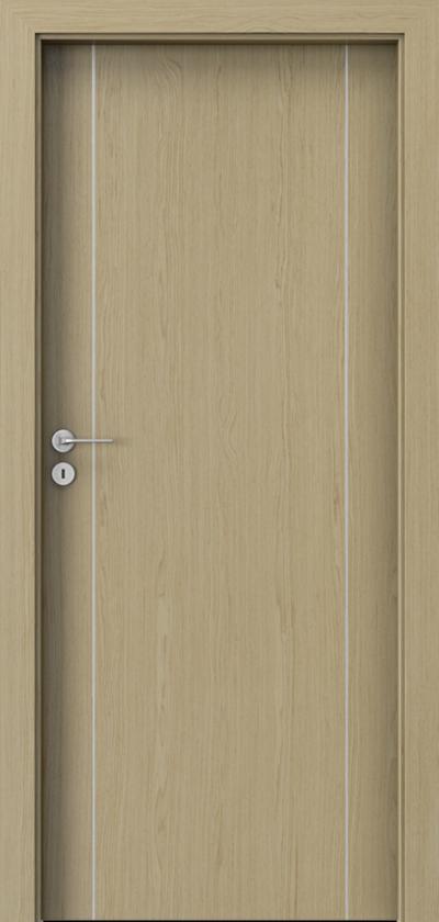 Interiérové dvere Natura LINE  A.1 Prírodná dýha Select **** Dub