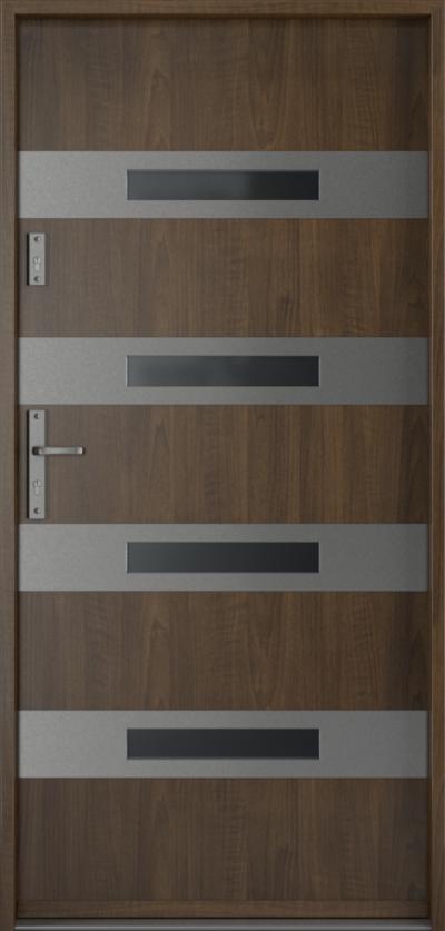 Drzwi wejściowe do domu Steel SAFE RC3 F1