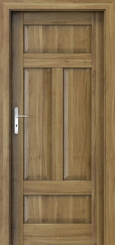 Drzwi wewnętrzne Porta HARMONY B.0 Okleina Portasynchro 3D *** Akacja Miodowa