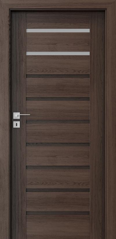 Drzwi wewnętrzne Porta KONCEPT A.2 Okleina Portaperfect 3D **** Dąb Hawana