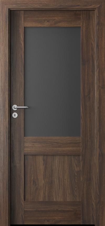 Drzwi wewnętrzne Porta VERTE PREMIUM, C C.1 Okleina Portasynchro 3D *** Dąb Szkarłatny