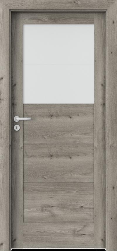 Drzwi wewnętrzne Porta VERTE HOME, B B.2 Okleina Portaperfect 3D **** Dąb Syberyjski