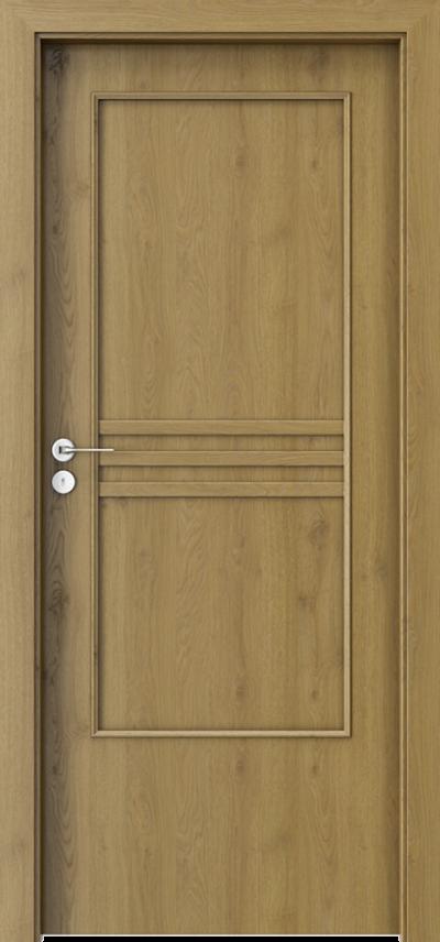 Drzwi wewnętrzne Porta STYL 3 z panelem Okleina Portaperfect 3D **** Dąb Naturalny