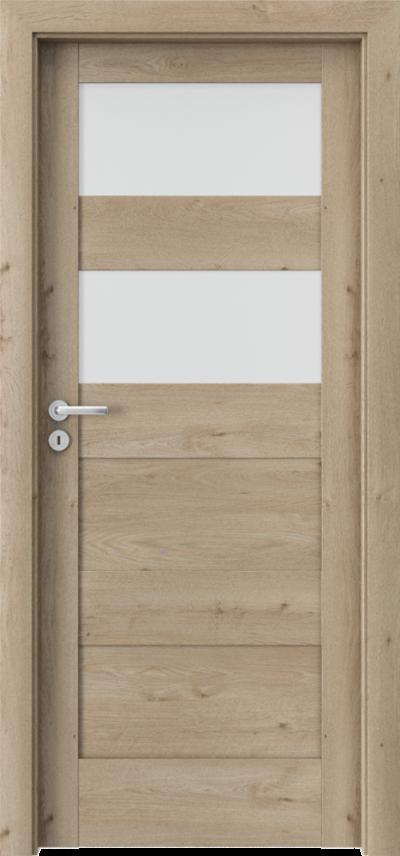 Drzwi wewnętrzne Porta VERTE HOME, L L.2 Okleina Portaperfect 3D **** Dąb Klasyczny