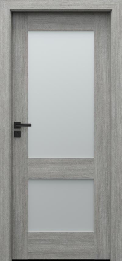Drzwi wewnętrzne Porta VERTE PREMIUM, C C.2 Portalamino**** Dąb Srebrzysty