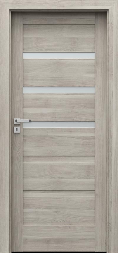 Drzwi wewnętrzne Porta VERTE HOME, H H.3 Okleina Portasynchro 3D *** Akacja Srebrna